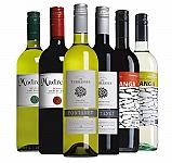 Proefpakket huiswijnen 6 flessen april (6x1 fl.)