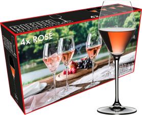 Riedel Extreme Rosé-Champagne wijnglas (set van 4 voor € 44,00)