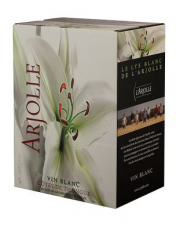 L'Arjolle Côtes de Thongue wit Bag in Box 5L