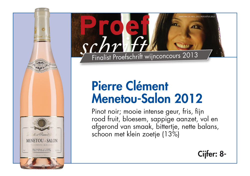Domaine cl ment for Menetou salon 2012