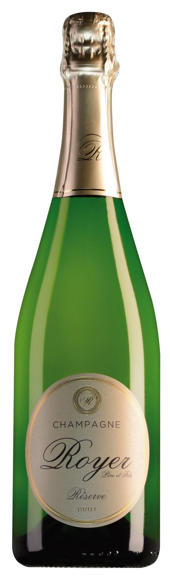 Royer Champagne Réserve Brut halve fles