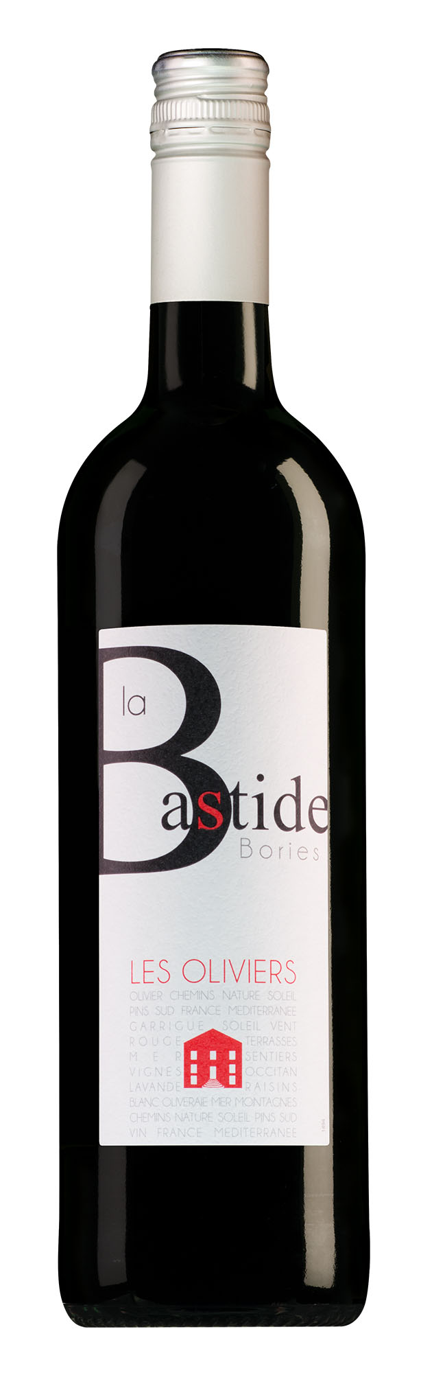La Bastide Bories Pays d'Aude Les Oliviers rood