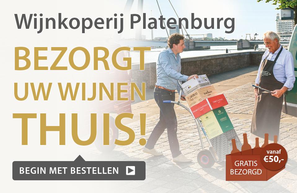 Wijnkoperij Platenburg bezorgt uw wijnen thuis