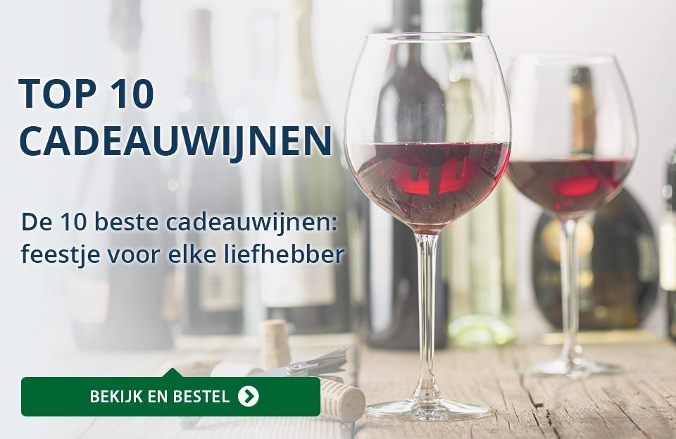 Wijngeschenken - Top 10 cadeauwijnen - blauw