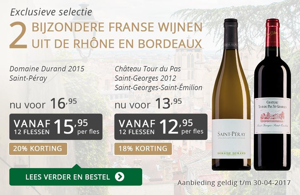 Exclusieve wijnen april 2017 - grijs/goud