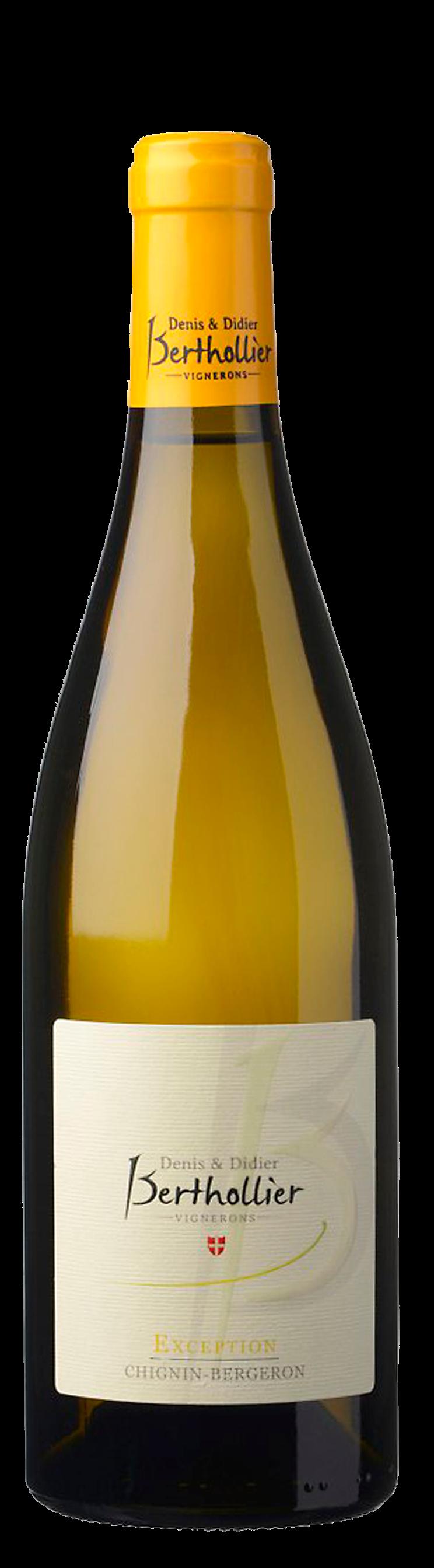 Denis et Didier Berthollie Chignin-Bergeron Exeption Vin de Savoier