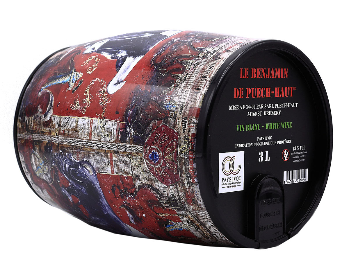 Château Puech-Haut Languedoc Le Benjamin Rosé BIB 3 liter