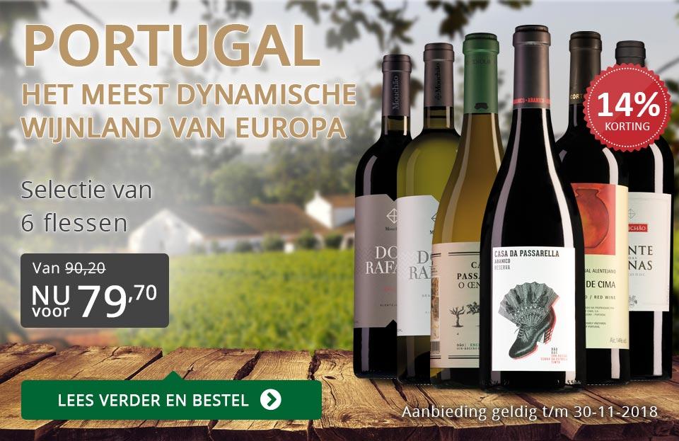 Proefpakket Portugese wijnen - grijs/goud