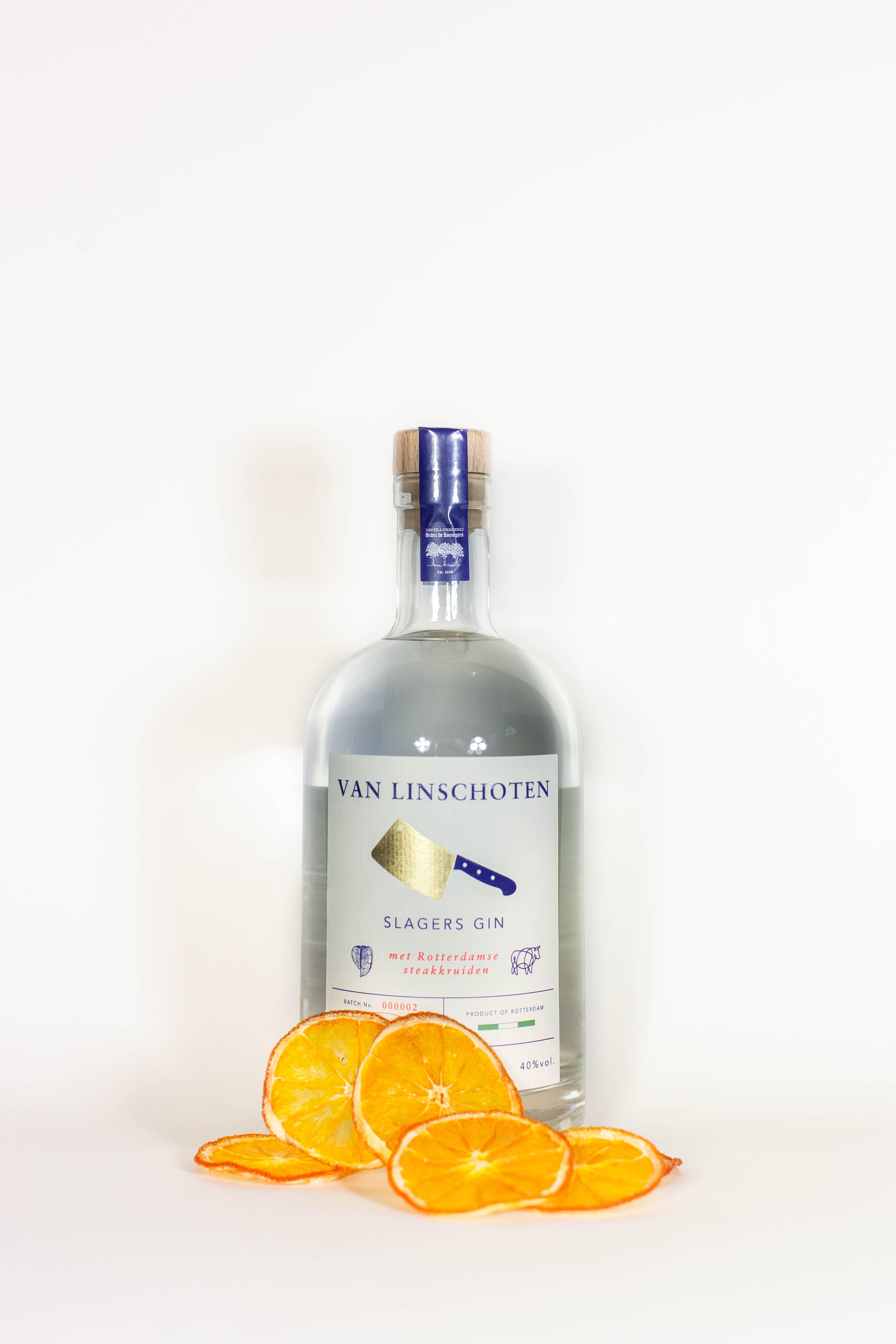 Slagers Gin van Linschoten