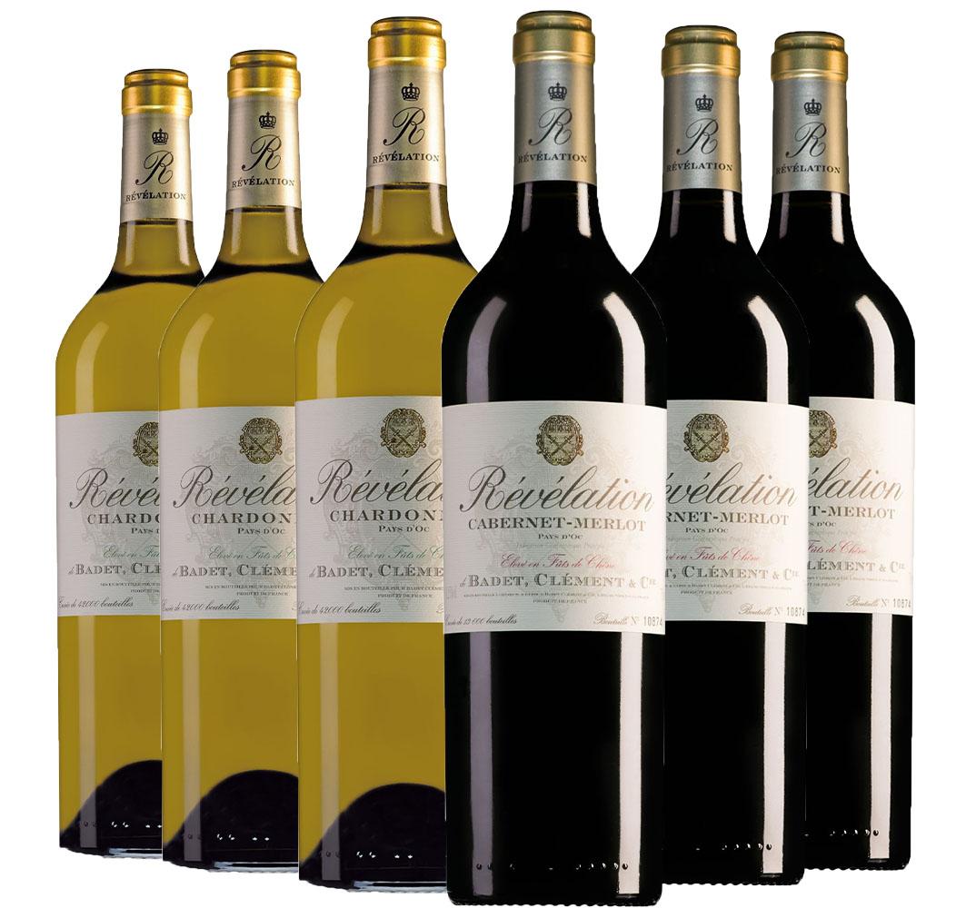 Wijnpakket Révélation (2x3 flessen)
