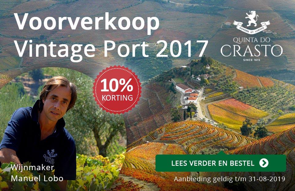 Voorverkoop Quinta do Crasto Vintage Port 2017