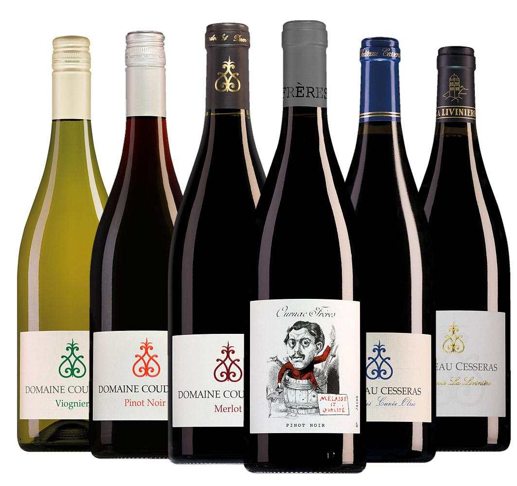Wijnpakket Camille Ournac wijnen (6 flessen)