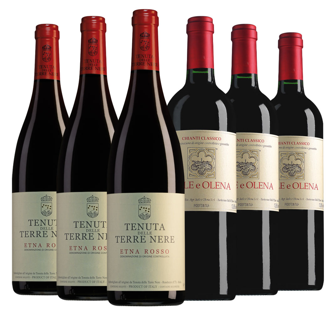 Wijnpakket bijzondere wijnen november (2x3 flessen)