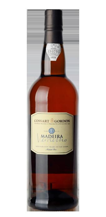 Cossart Gordon Madeira Verdelho 5yr