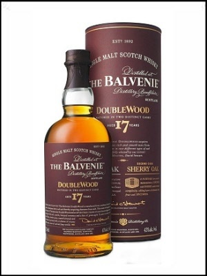 Balvenie single malt 17 years Double Wood