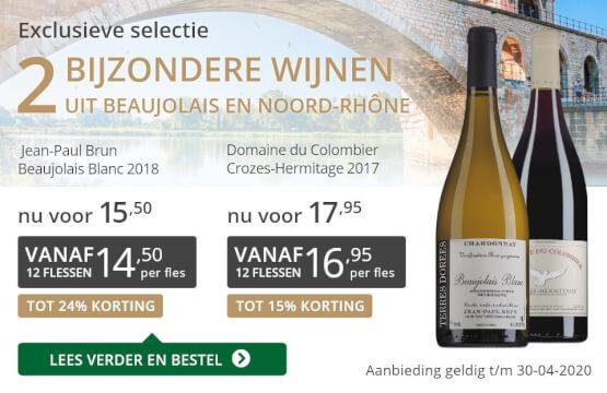 Twee bijzondere wijnen april 2020-grijs/goud
