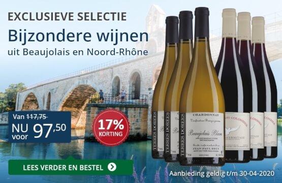 Wijnpakket bijzondere wijnen april 2020 (97,50)-blauw